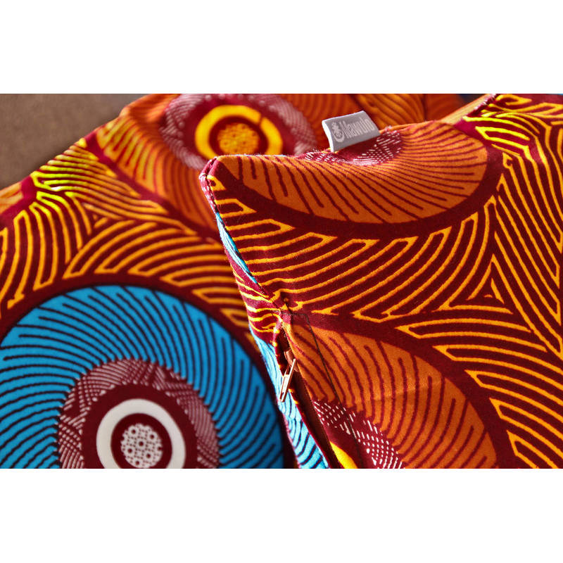 Buy colorful cushion cover African Mama with zip 50x50cm