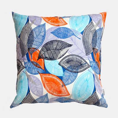 cushion cover African Autumn blue-orange 50x50cm online